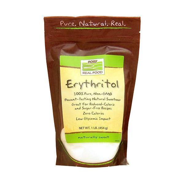 エリスリトール 100%ピュア 454g 砂糖代替甘味料  NOW