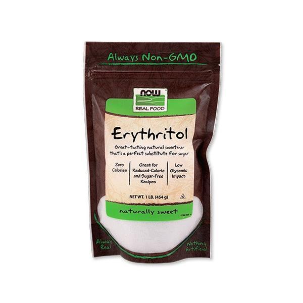 エリスリトール 454g(1lb)NOW Foods(ナウフーズ)パウダー