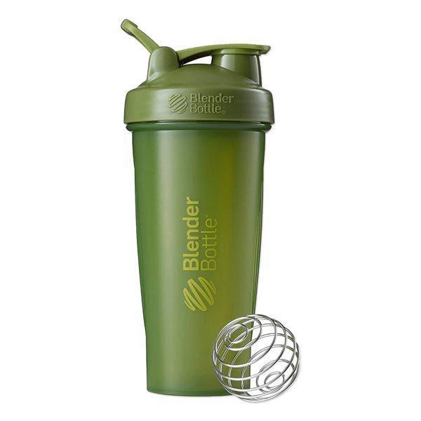 クラシックシェイカーボトル 28oz (約828ml) モスグリーン Blender Bottle (ブレンダーボトル)