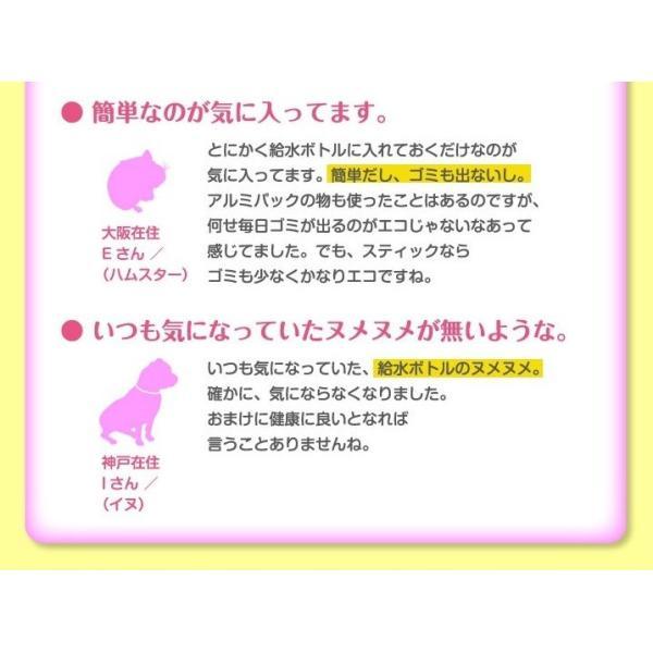 容器がプラに!お得な3本セット 犬猫用水素発生魔法のスティックペット用 水素水 犬 猫 ペット健康 水  supplemarche 10