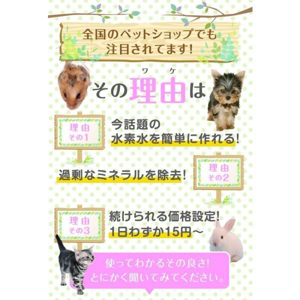 犬猫用水素発生魔法のスティックペット用 水素水 犬 猫 硬度を下げる ペット健康 水 |supplemarche|08