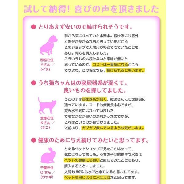 犬猫用水素発生魔法のスティックペット用 水素水 犬 猫 硬度を下げる ペット健康 水 |supplemarche|09