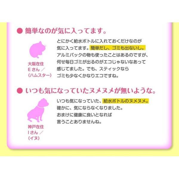犬猫用水素発生魔法のスティックペット用 水素水 犬 猫 硬度を下げる ペット健康 水 |supplemarche|10