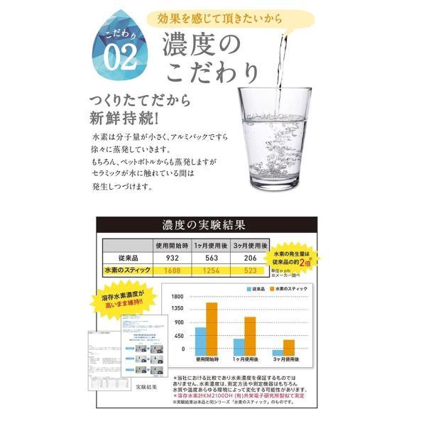 シリカ3 水素のスティックがパワーアップ水素ボール20%増量 更にシリカを追加!送料無料 水素のスティック シリカプラス3本入|supplemarche|09