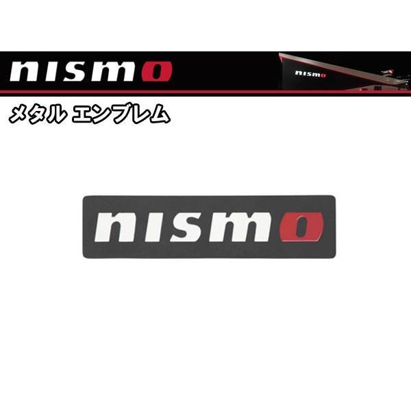 99993-RN211 ニスモ nismo メタルエンブレム ブラック