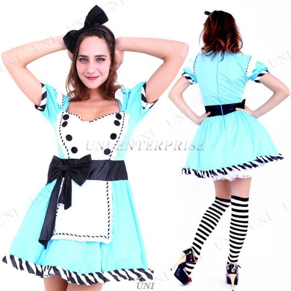 コスプレ 仮装 衣装 ハロウィン 余興 ドレス CLUB QUEEN Lovely Alice(ラブリーアリス) supplies-world 03