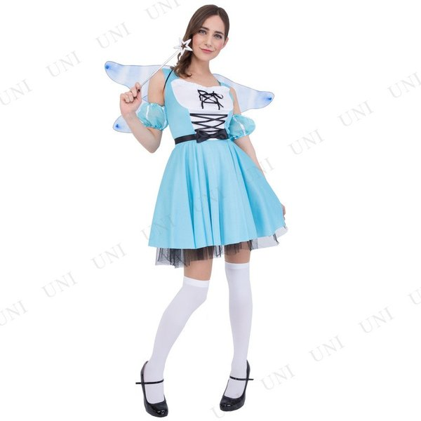 コスプレ 仮装 衣装 ハロウィン 余興 童話 CLUB QUEEN Fairy Alice(フェアリーアリス)|supplies-world|02