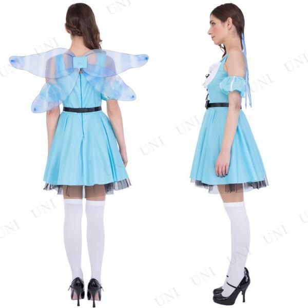 コスプレ 仮装 衣装 ハロウィン 余興 童話 CLUB QUEEN Fairy Alice(フェアリーアリス)|supplies-world|03