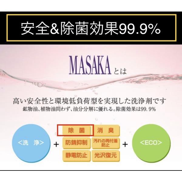 赤ちゃんにも安心!除菌消臭洗浄剤MASAKA108 supreme118