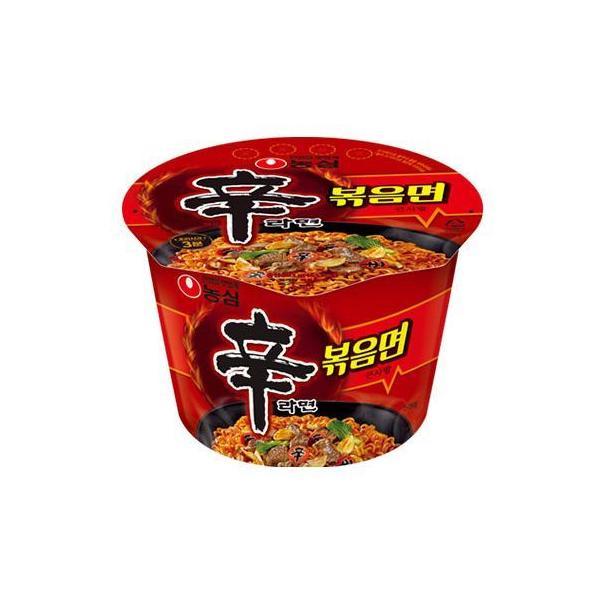 新商品 農心 辛ラーメン 炒め カップ麺 103gx1個  / 辛ラーメン 炒め辛ラーメン 辛口炒め麺 韓国焼きそば