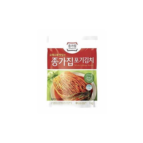 【冷蔵】 宗家 白菜キムチ 1kg (韓国直輸入白菜キムチ)※5個以上は予約販売品 ※|surakkanplus