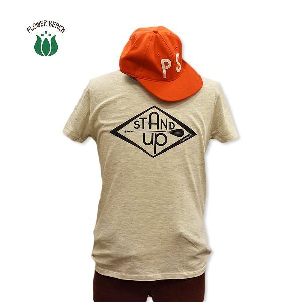 FLOWER BEACH /STAND UP/S/STEE/Tシャツ/sup|surfbiarritz-store|02