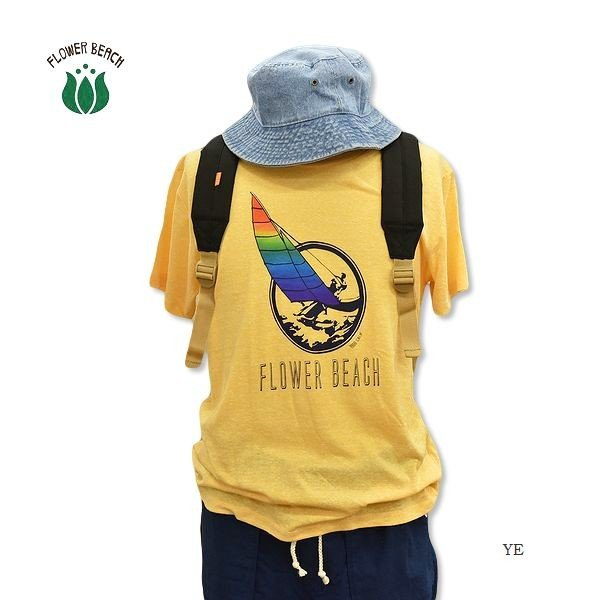 FLOWER BEACH/ YACHT/S/STee/Tシャツ|surfbiarritz-store|03