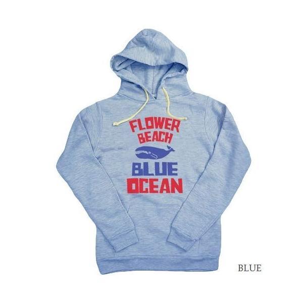 FLOWER BEACH/BLUE/SWEAT/PARKA/パーカー/ORDER|surfbiarritz-store|05