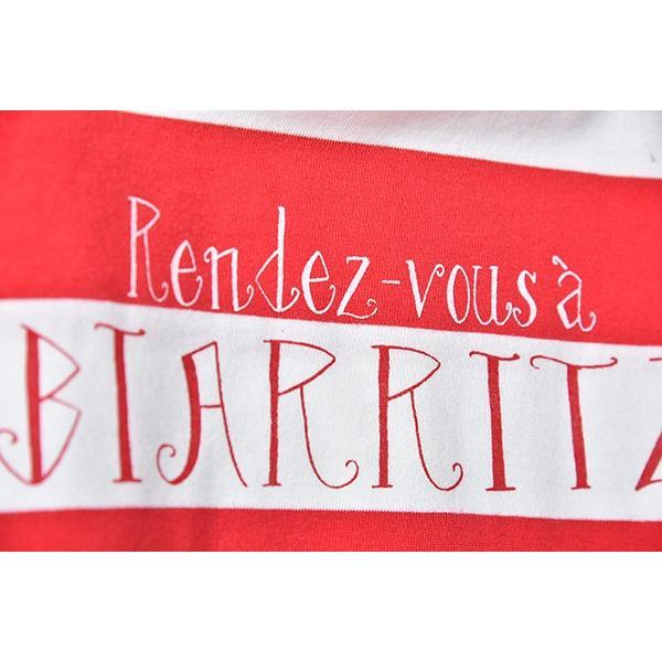 SURF BIARRITZ/rendez-vous a biarritz/stripe-t-shirts/RED|surfbiarritz-store|02