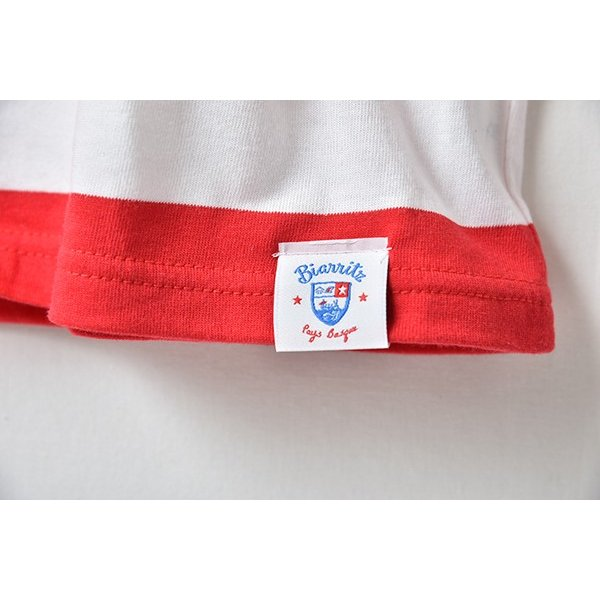 SURF BIARRITZ/rendez-vous a biarritz/stripe-t-shirts/RED|surfbiarritz-store|03
