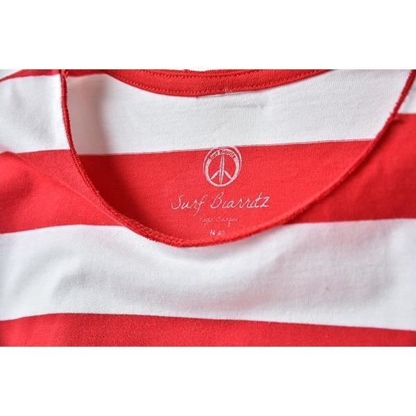 SURF BIARRITZ/rendez-vous a biarritz/stripe-t-shirts/RED|surfbiarritz-store|04