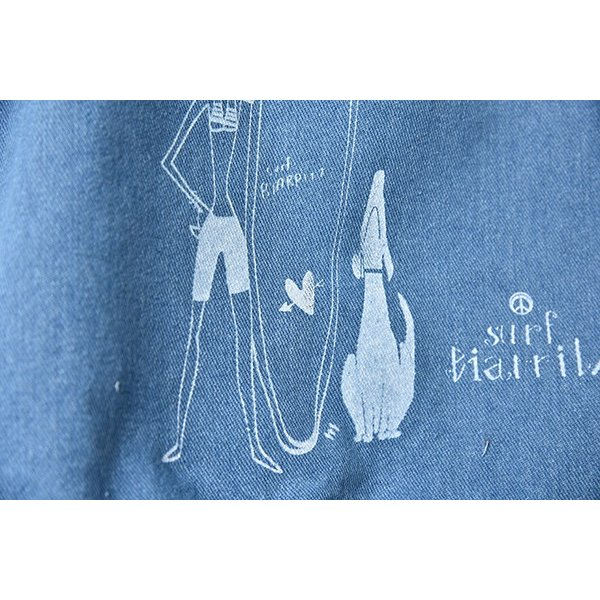 SURF BIARRITZ/DENIM BAG/TOTE/DOG|surfbiarritz-store|02