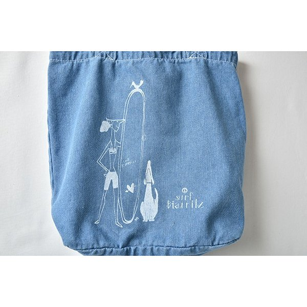 SURF BIARRITZ/DENIM BAG/TOTE/DOG|surfbiarritz-store|06