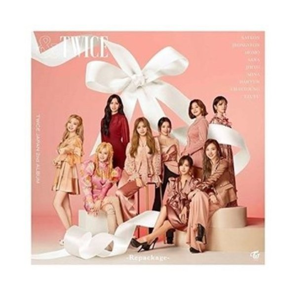 CD/TWICE/&TWICE -Repackage- (CD+DVD) (初回限定盤)|surprise-flower