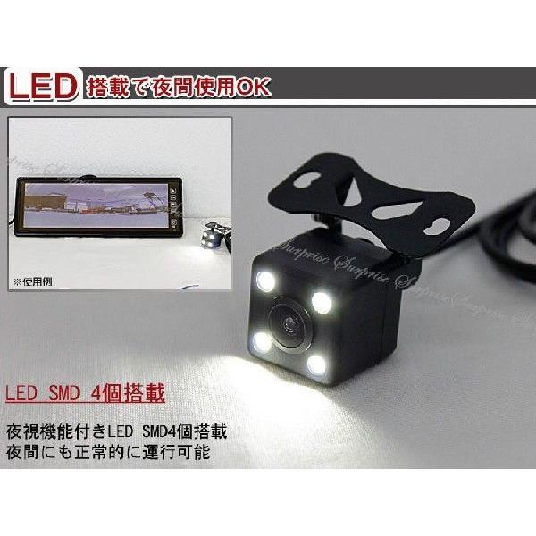 車用バックミラーモニター10.2inch日立LED液晶 & ワイヤレスカメラ 色選択|surprise-parts|05