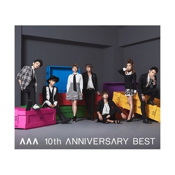 CD/AAA/AAA 10th ANNIVERSARY BEST (2CD+DVD) (通常盤)