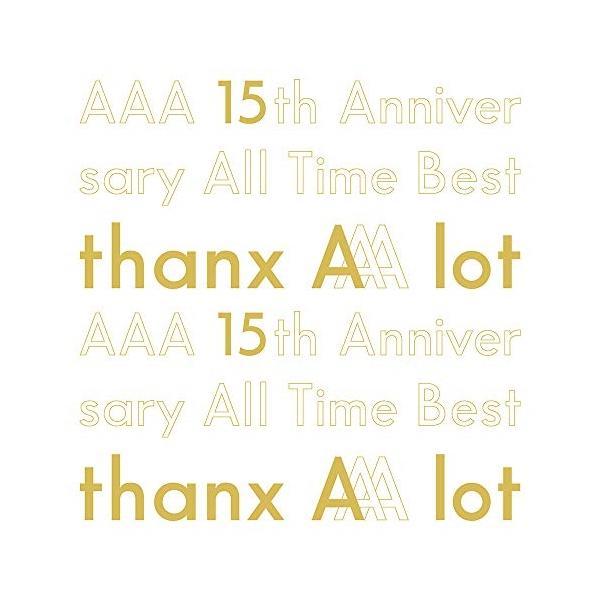 CD/AAA/AAA 15th Anniversary All Time Best -thanx AAA lot- (5CD(スマプラ対応)) (初回生産限定盤)