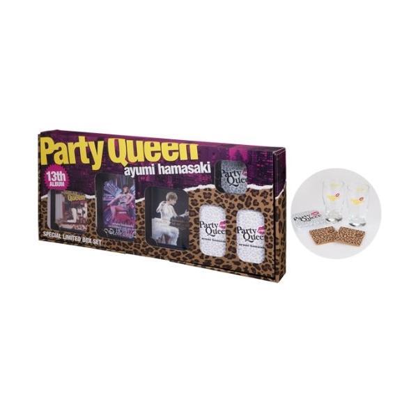 【取寄商品】CD/浜崎あゆみ/Party Queen SPECIAL LIMITED BOX SET (CD+2DVD+Blu-ray) (初回生産限定盤)