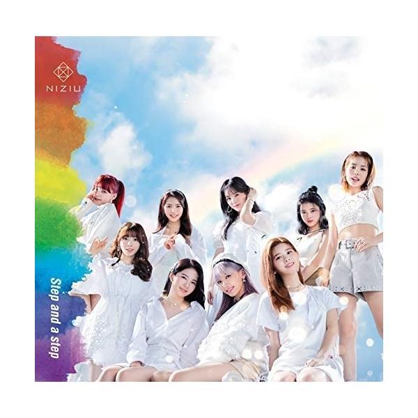 CD/NiziU/Step and a step (CD+DVD) (初回生産限定盤A)の画像