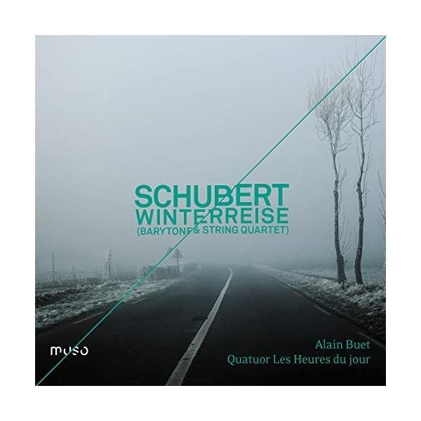★CD/クラシック/シューベルト:冬の旅 バリトン独唱と古楽器による弦楽四重奏版