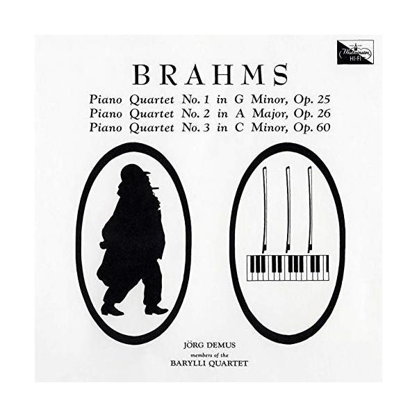 CD/デームス バリリ四重奏団員/ブラームス:ピアノ四重奏曲(全3曲) (UHQCD) (ライナーノーツ) (限定盤)