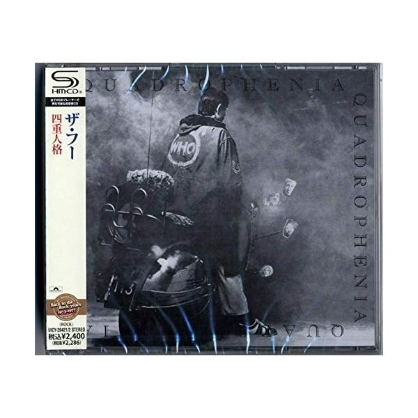 CD/ザ・フー/四重人格 (SHM-CD) (解説歌詞対訳付)