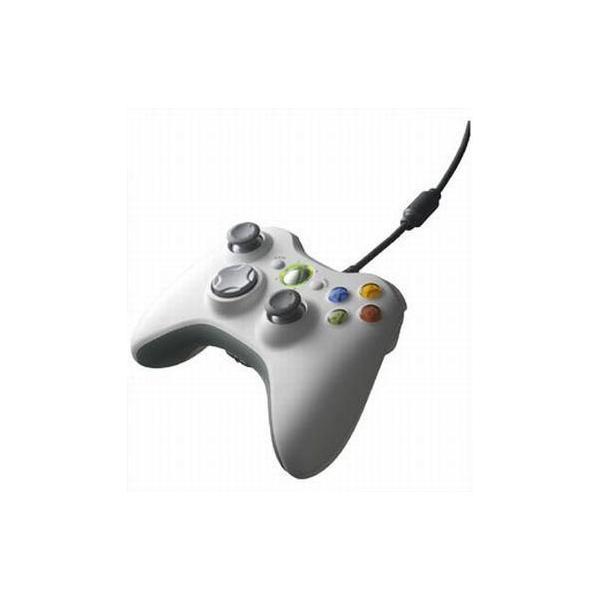 XBOX360 コントローラー ホワイトの画像