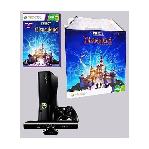 XBOX360本体 + Kinect ディズニーランド・アドベンチャーズ Disney Store 限定パック 4GBの画像