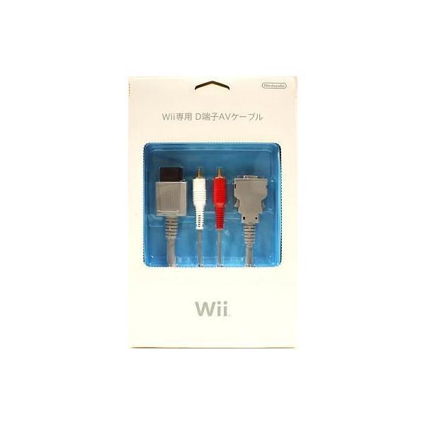 Wii専用 D端子AVケーブル(Wii U対応) 任天堂(RVL-A-KD/RVL-012)の画像