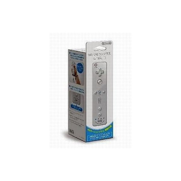 Wiiリモコンプラス RVL-A-WRWA シロの画像
