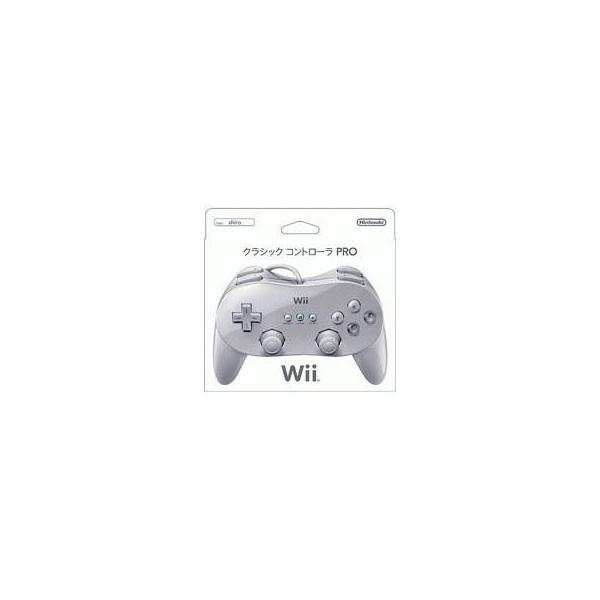 クラシックコントローラPRO(プロ) シロ(Wii/Wii U用) 任天堂(RVL-A-R2W)の画像