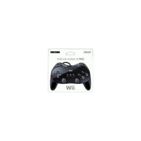 クラシックコントローラPRO(プロ) クロ(Wii/Wii U用) 任天堂(RVL-A-R2K)の画像