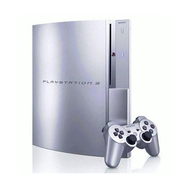 PlayStation3本体 80GB サテンシルバーの画像