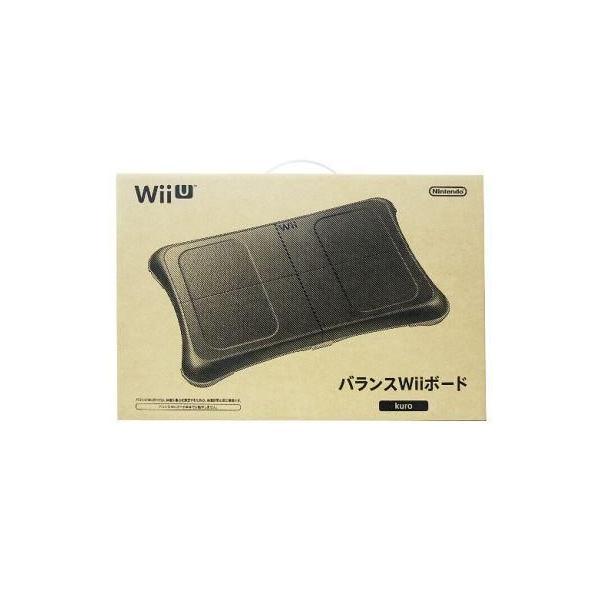 バランスWiiボード kuro/クロ/黒(Wii/Wii U用) 任天堂(RVL-B-BCK)の画像