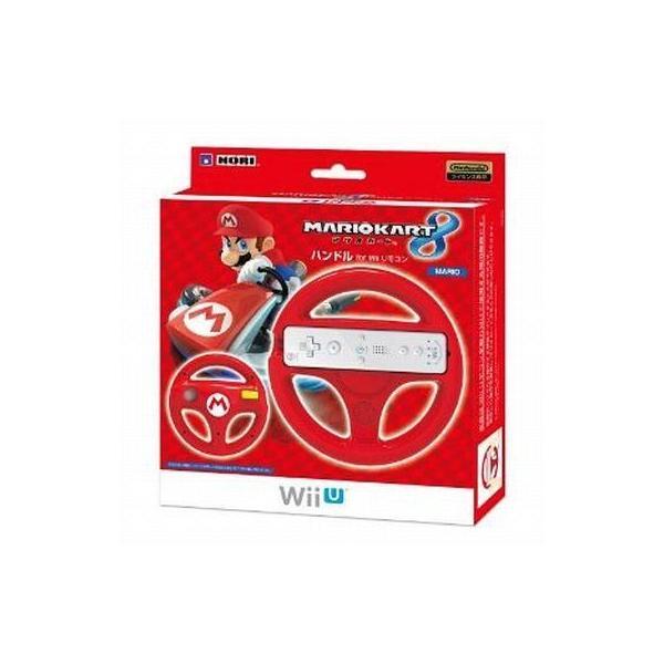 マリオカート8 ハンドル リモコンマリオ WiiU用の画像