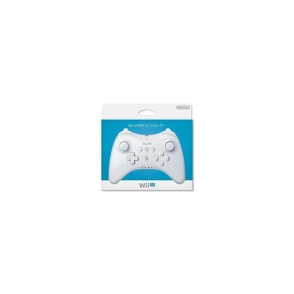 WiiU用PROコントローラー shiro 任天堂(WUP-A-RSWA) ※充電ケーブル同梱の画像