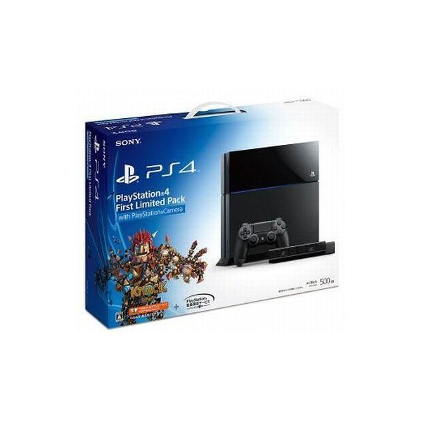 PlayStation4本体 First Limited Pack with PlayStation Cameraの画像