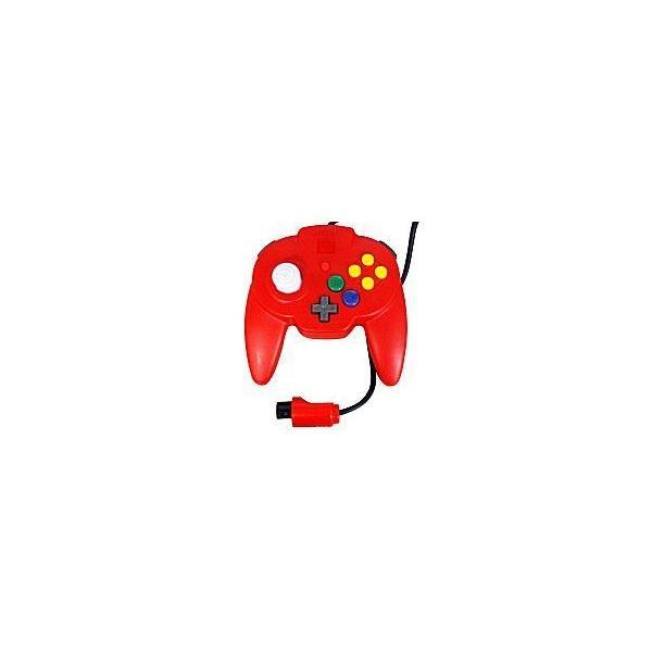 ホリパッドミニ64(レッド) N64の画像