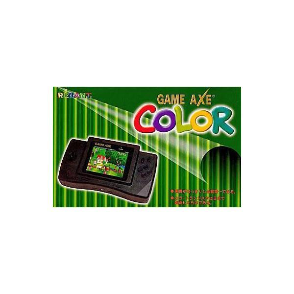 台湾 ファミコン FCH GAMEAXECOLOR(液晶モニター付携帯ファミコン)の画像