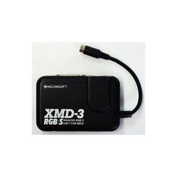 電波新聞社 メガドライブ周辺機器 メガドライブ2用 アナログRGB/Sユニット XMD-3 RGB/S (DP-3913323)の画像