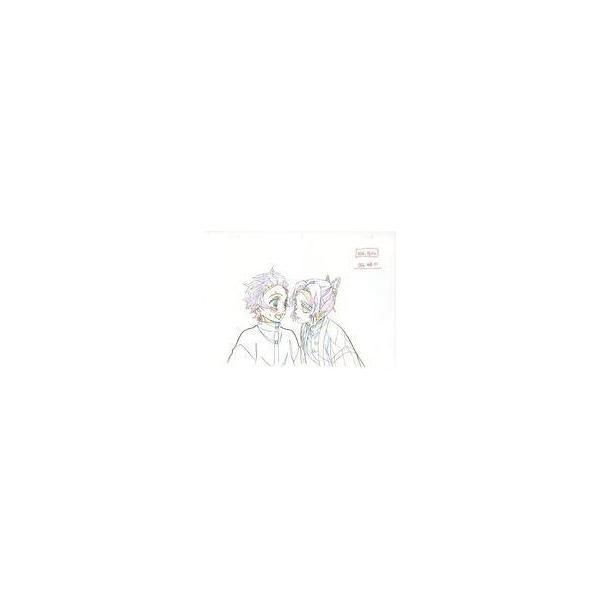 中古アニメムック鬼滅の刃Blu-ray/DVD10巻ufotable購入特典複製原画炭治郎しのぶ