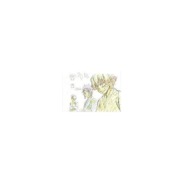 中古アニメムック鬼滅の刃Blu-ray/DVD2巻ufotable購入特典複製原画炭治郎善逸玄弥