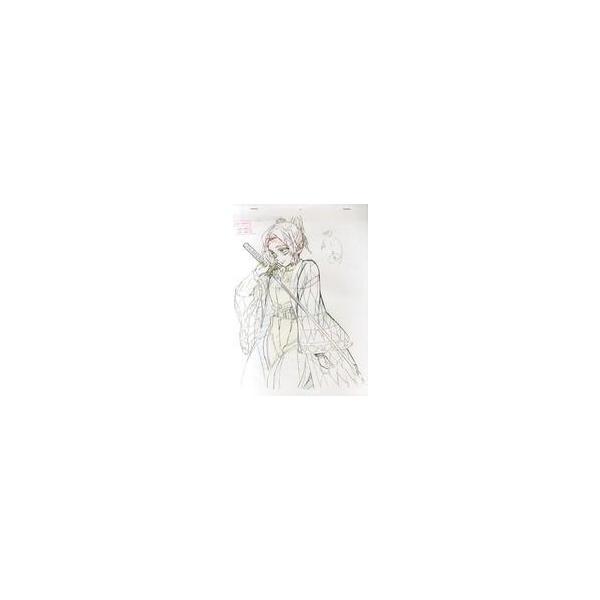 中古アニメムック鬼滅の刃Blu-ray/DVD9巻ufotable購入特典複製原画胡蝶しのぶ