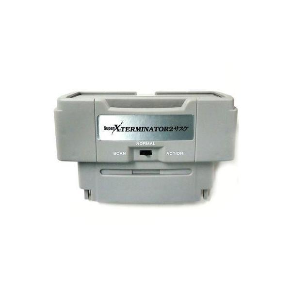 ゲームテック スーパーファミコン周辺機器 SUPER エックスターミネーター2 サスケの画像